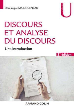 Discours et analyse du discours : une introduction