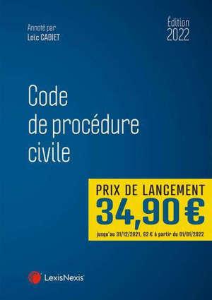 Code de procédure civile 2022