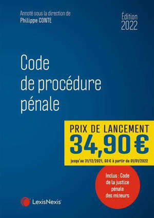 Code de procédure pénale 2022