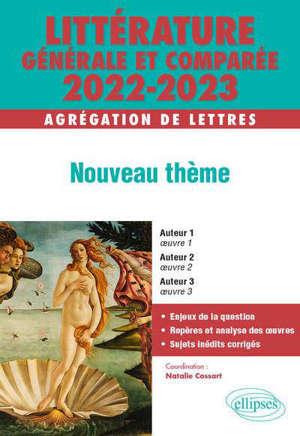 Littérature générale et comparée 2022-2024 : agrégation de lettres : fictions animales