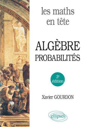 Algèbre, probabilités