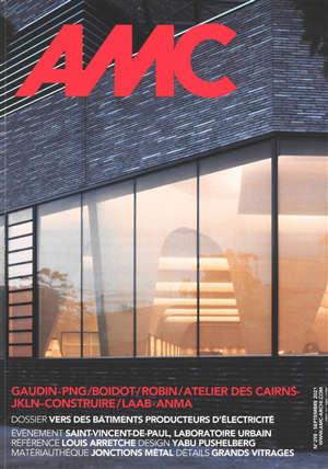 AMC, le moniteur architecture, n° 298. Vers des bâtiments producteurs d'électricité