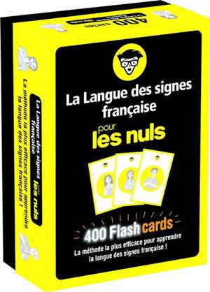 La langue des signes pour les nuls : flashcards