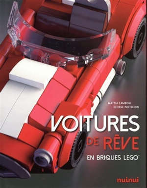 Voitures de rêve en briques Lego