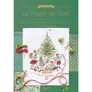 La magie de Noël à broder au point de croix