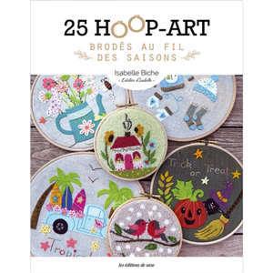 25 hoop-art brodés au fil des saisons