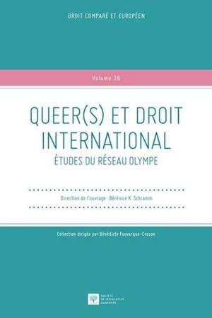 Queer(s) et droit international : études du réseau Olympe