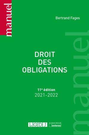 Droit des obligations : 2021-2022