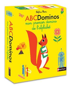 ABCDominos : mon premier domino de l'alphabet