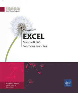 Excel Microsoft 365 : fonctions avancées