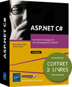 ASP.Net C# : apprendre le langage C# et le développement ASP.Net : coffret 2 livres