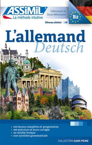 L'allemand : débutants & faux débutants, niveau atteint B2