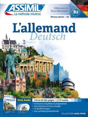 L'allemand : débutants & faux débutants, niveau atteint B2 : pack audio