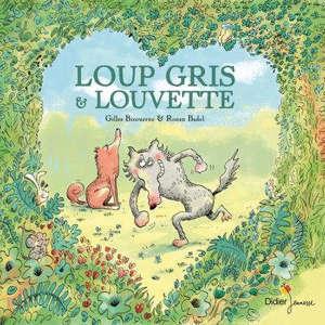 Loup gris et Louvette