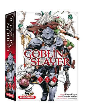 Coffret Goblin Slayer : tomes 1, 2, 3