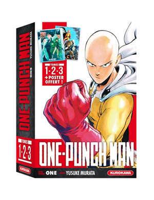 Coffret One-punch man : tomes 1, 2 et 3