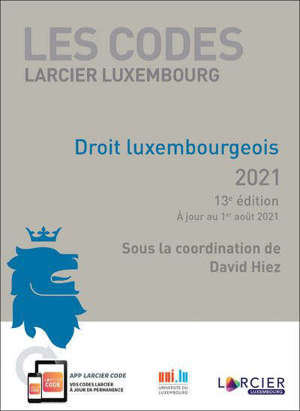 Droit luxembourgeois 2021