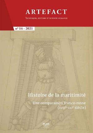 Artefact, n° 14. Histoire de la maritimité : une comparaison franco-russe (XVIIIe-XXIe siècle)