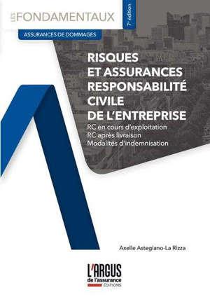 Risques et assurances de responsabilité civile de l'entreprise