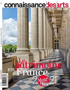 Le patrimoine en France 2021 : mission Bern patrimoine en péril