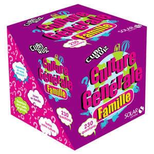 Cuboquiz culture générale famille : 230 questions