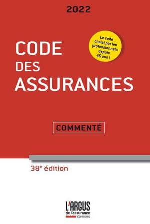 Code des assurances 2022 : commenté
