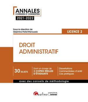 Droit administratif : licence 2 : 2021-2022