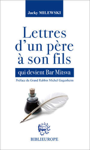 Lettres d'un père à son fils qui devient Bar Mitsva