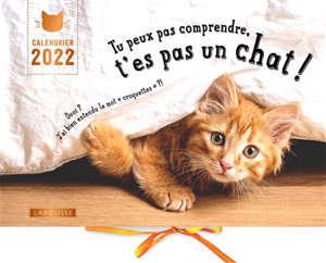 Tu peux pas comprendre, t'es pas un chat ! : calendrier 2022
