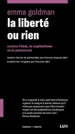 L'anarchisme et autres essais
