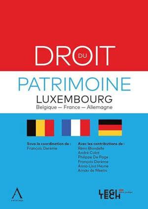 Droit du patrimoine : Luxembourg, Belgique, France, Allemagne