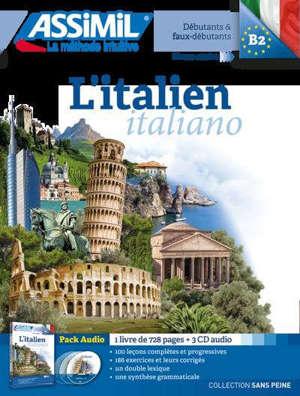 L'italien : débutants & faux-débutants, niveau atteint B2 : pack CD