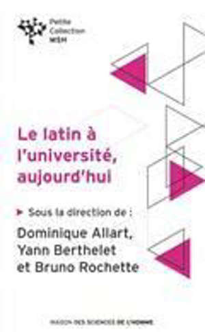 Le latin à l'université, aujourd'hui
