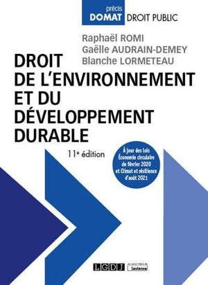 Droit de l'environnement et du développement durable
