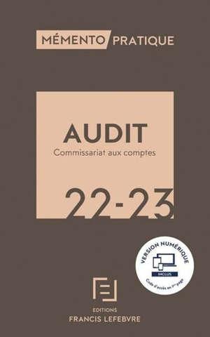 Audit, commissariat aux comptes 2022-2023