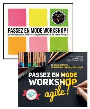Pack Passez en mode worshop + Passez en mode worskshop agile