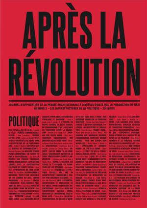 Après la révolution, n° 2. Politique