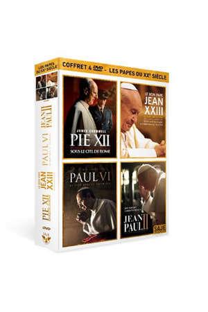 Les papes du XXème siècle - Coffret 4 DVD