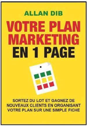 Pack Votre plan marketing en 1 page + poster