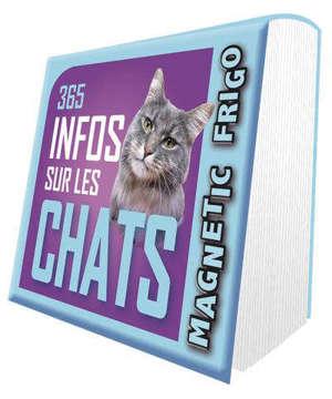 365 infos sur les chats : magnetic frigo : 2022