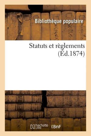 Statuts et règlements Congrès national d'hygiène et de salubrité publiques, Marseille, octobre 1906