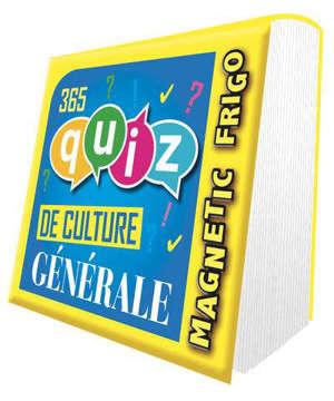 365 quiz de culture générale : magnetic frigo : 2022