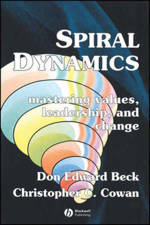 Spiral Dynamics : Mastering Values, Leadership and Change