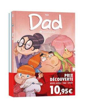 Dad : pack découverte tomes 1 et 8