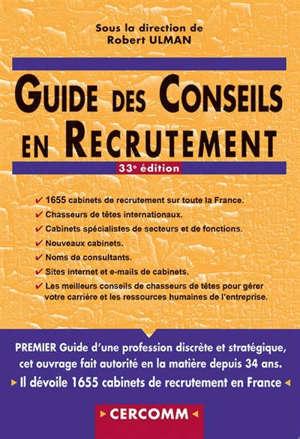 Guide des conseils en recrutement 2019