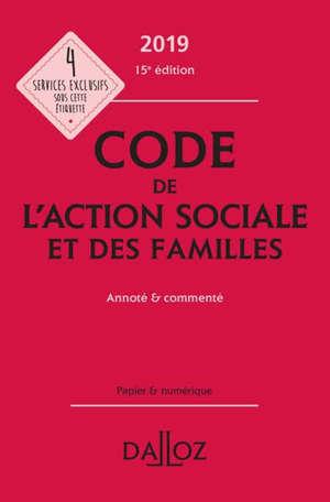 Code de l'action sociale et des familles 2019