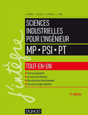 Sciences industrielles pour l'ingénieur, tout-en-un, MP, PSI, PT