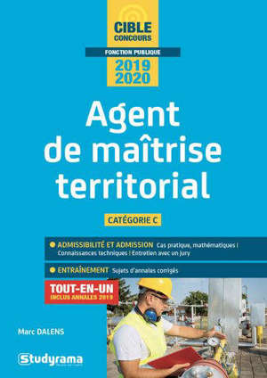 Agent de maîtrise territorial, catégorie C,  2019-2020 : tout-en-un