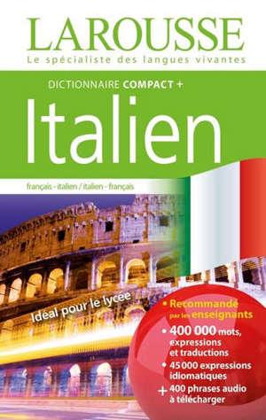 Dictionnaire compact + italien : français-italien, italien-français