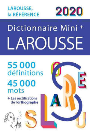 Dictionnaire Larousse mini + 2020